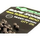 KORDA SAFE ZONE RUBBER BEAD 4 MM.