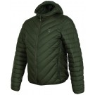 FOX COLLECTION QUILTED JACKET GREEN / SILVER