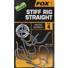 FOX EDGES STIFF RIG STRAIGHT